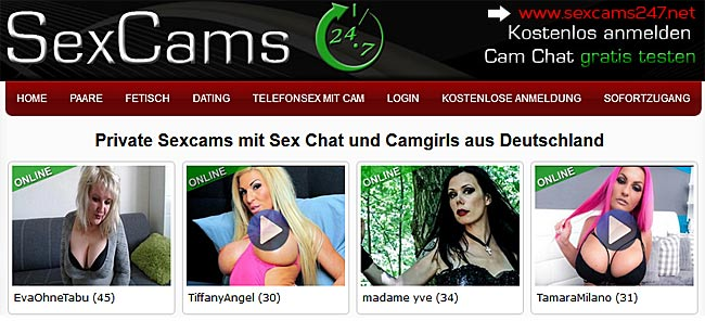 sexcams247.net - privater Sexcam Chat