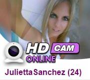 HD Sexcam von JuliettaSanchez